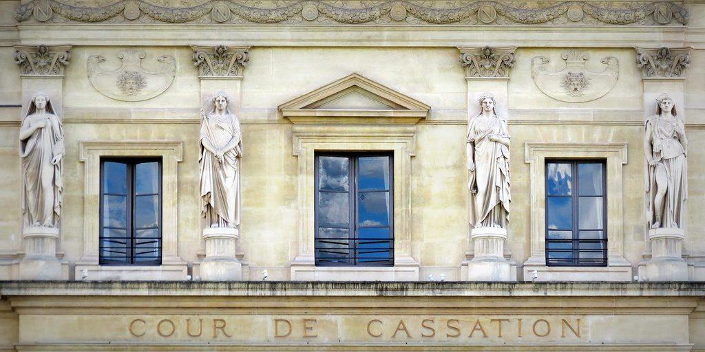 Fronton des Cariatides Cour de cassation
